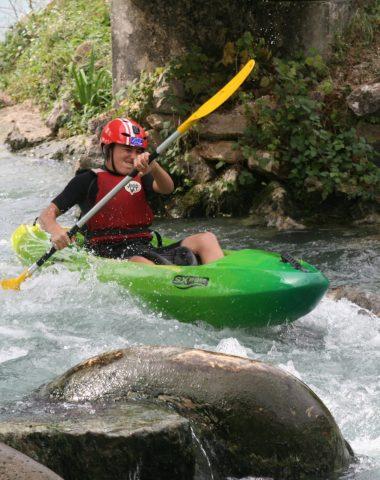 Kayak à Espace eau vive