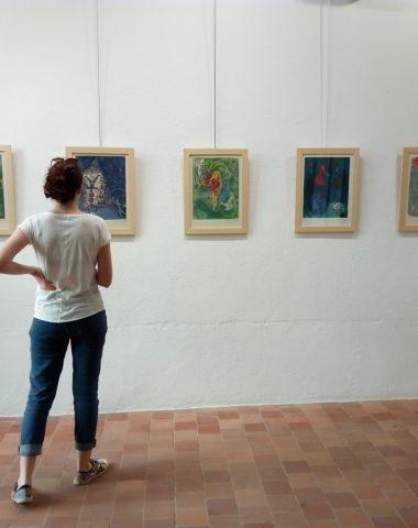 Exposition Chagall musées du vieux Pérouges