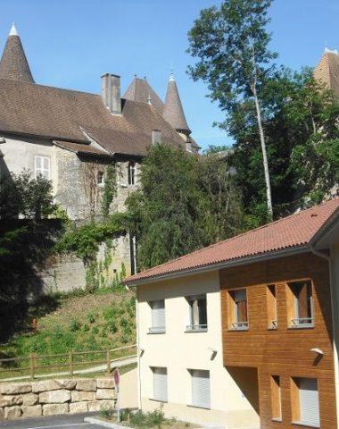 Gîte de groupe au château de Saint-Sorlin-en-Bugey