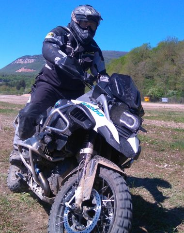 Stage moto à Sault-Brénaz