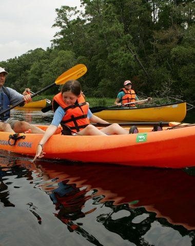 canoë kayak sur la rivière d'ain