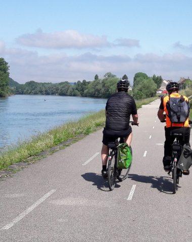 Itiniéraires vélo sur la Viarhona par Virginie BUGUET