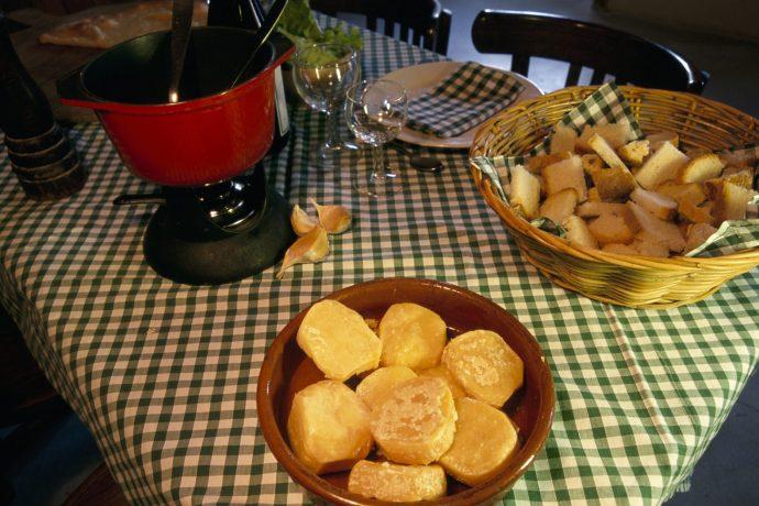 La fondue Fromagerie de Saint-Rambert-en-Bugey