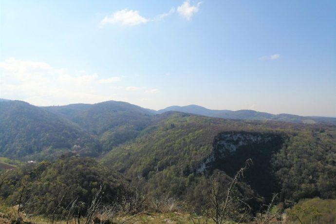 Panorama depuis les hauteurs de Jujurieux