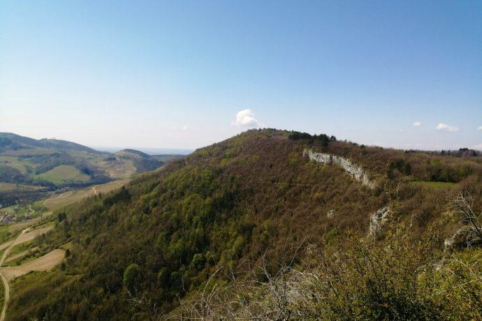 Panorama depuis le Rocher de St-Alban