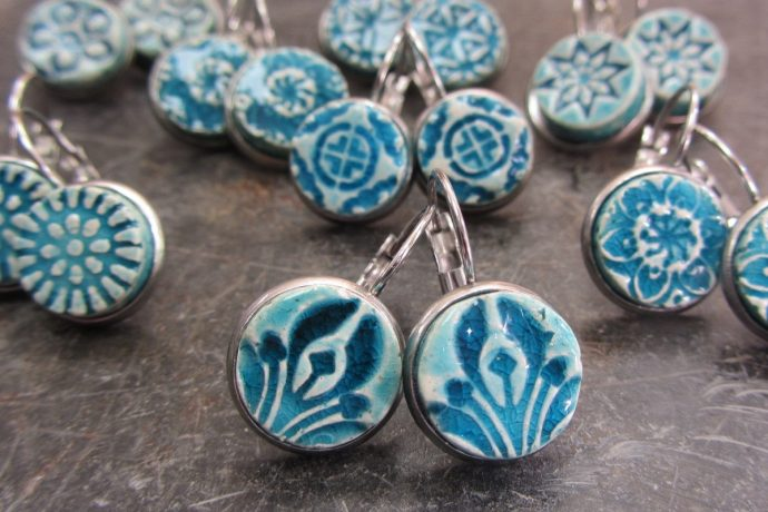 Saskia Lauth: Boucles d'oreilles