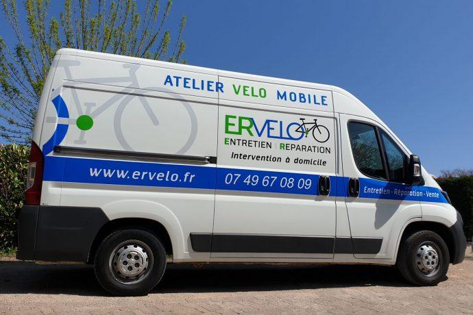 ERVELO Atelier réparation et entretien de vélo mobile