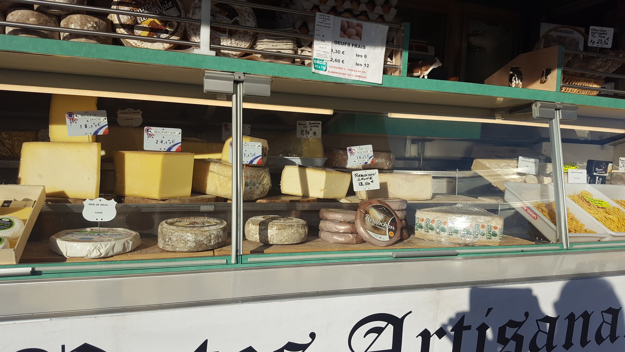 Stand fromager