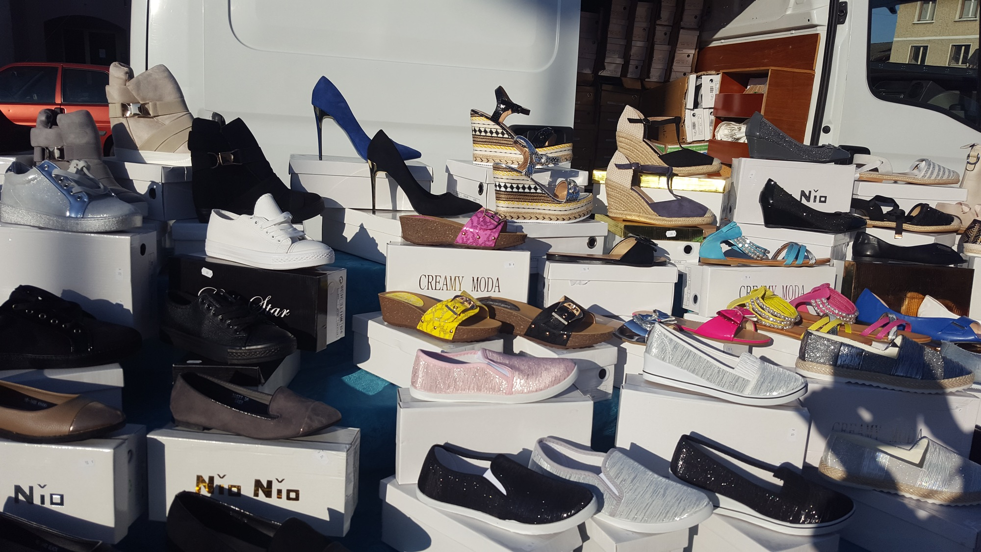 Stand chaussures