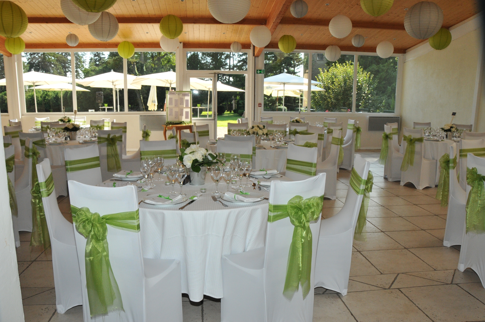 Salle des Cèdres mariage champêtre