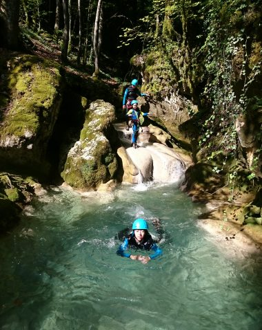 Canyoning dans le Bugey
