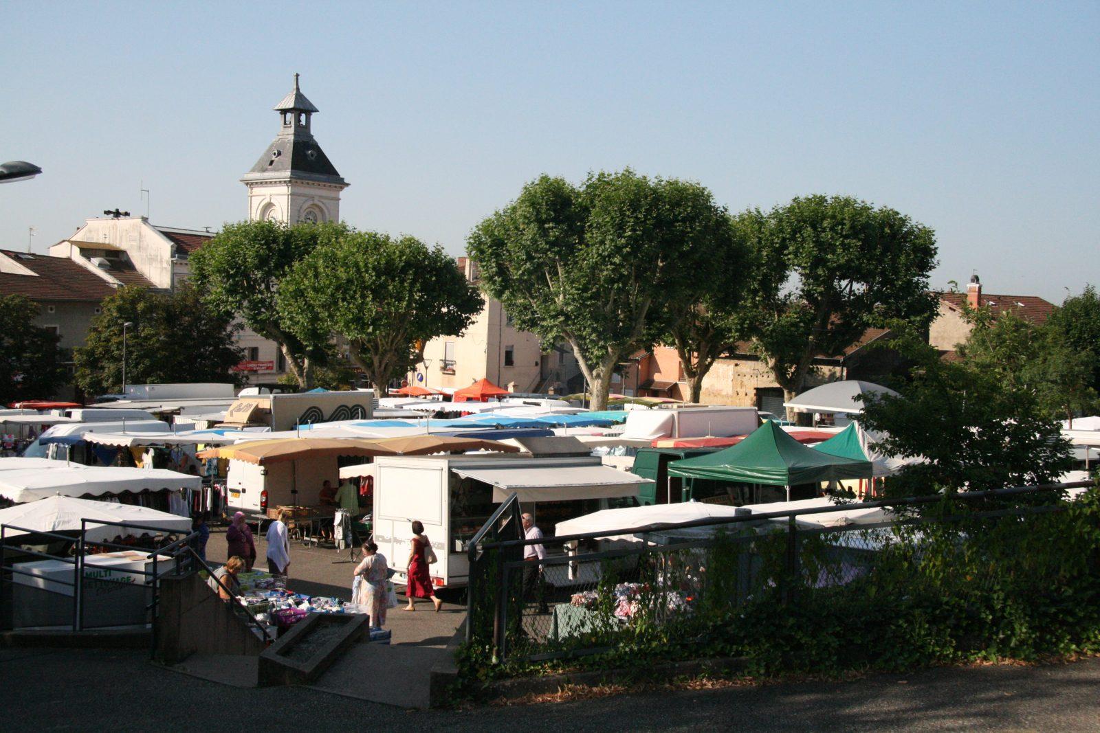 Les toits du marché