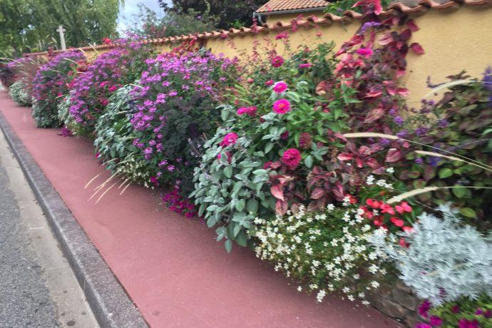 Fleurissement dans la Commune de Saint Vulbas