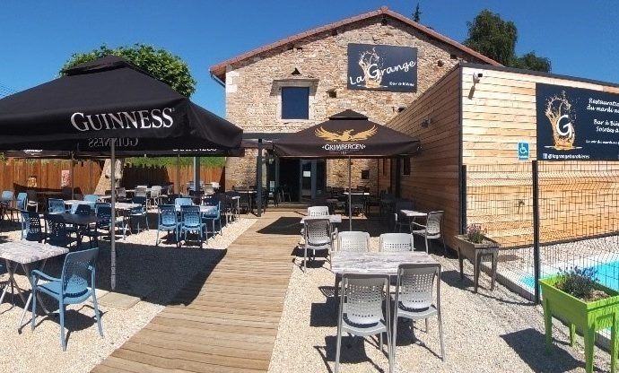 Notre restaurant – bar à bière partenaire «La grange»