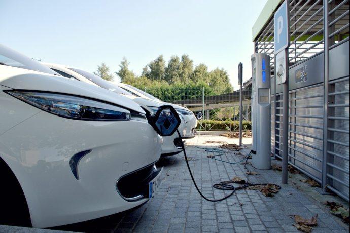 Aire de recharge électrique