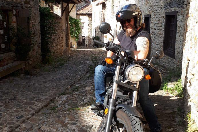 Circuit moto : Lyon Pérouges