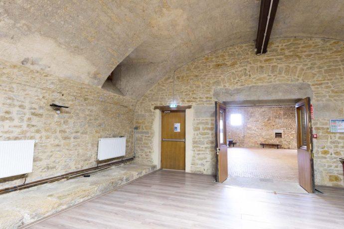 Gîte Château Saint Sorlin – Salle voûtée