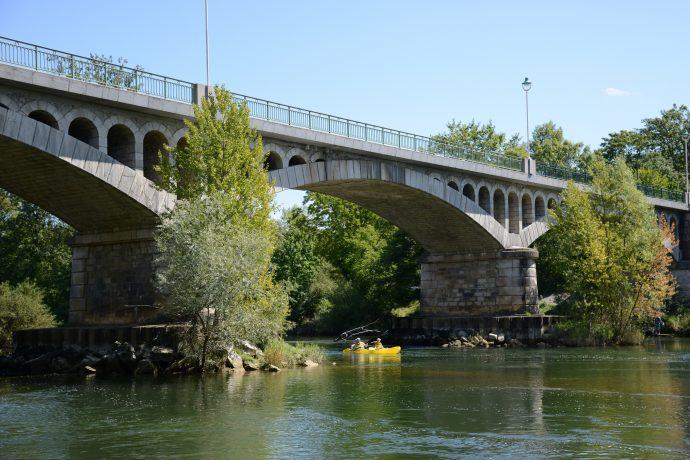 Descente de l'Ain en canoë-kayak