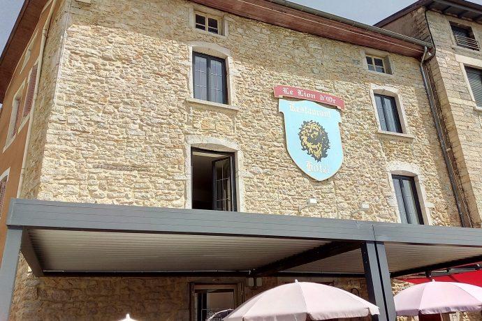 hôtel le lion d'or Lagnieu