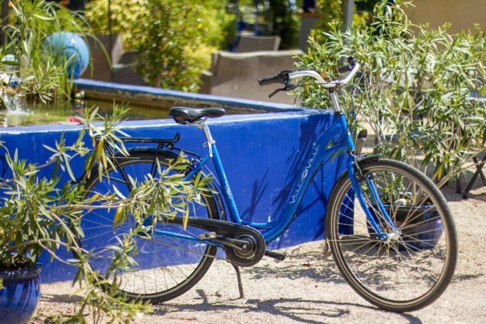 La Bicyclette Bleue à Joyeux