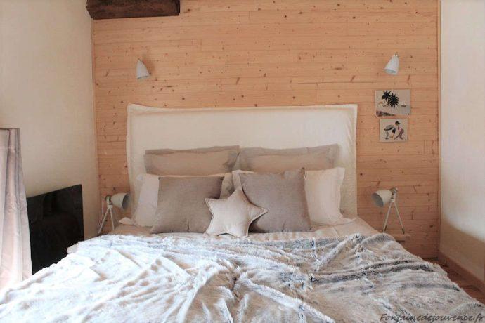 Chambre Chalet 1er étage avec lit 160*200 ou 2 lits 80*200