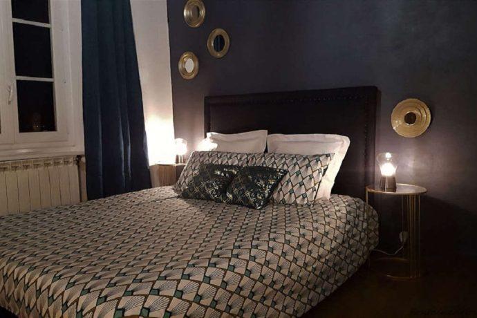Chambre Art Déco avec lit 160*200